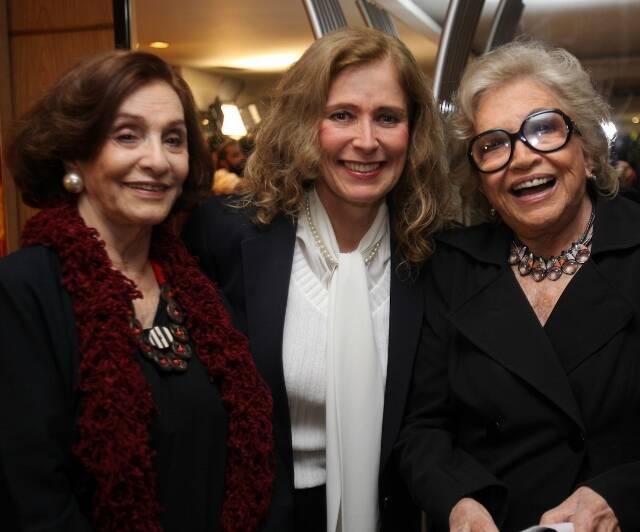 Aracy Cardoso, Priscila Camargo e Nathália Timberg