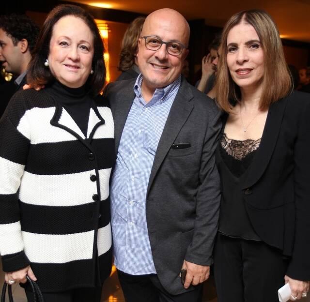 Beth Serpa, Emílio Kalil e Liege Monteiro