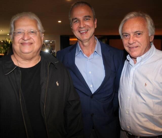 Carlos Alberto Serpa, Jorge Delma e José Dias