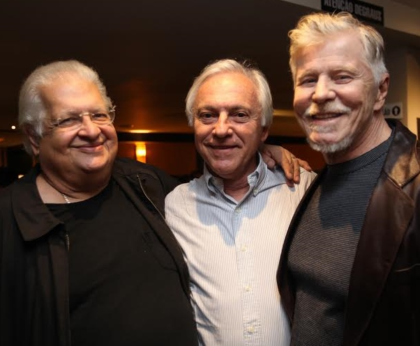Carlos Alberto Serpa, José Dias e Miguel Falabella