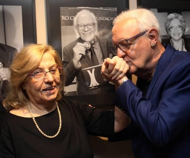 Jacqueline Laurence e Ney Latorraca