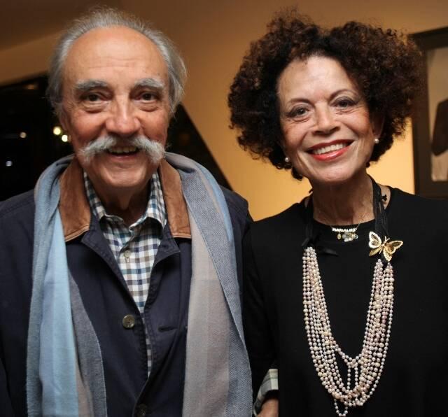 José Hugo Celidonio e Maria Alice Celidonio