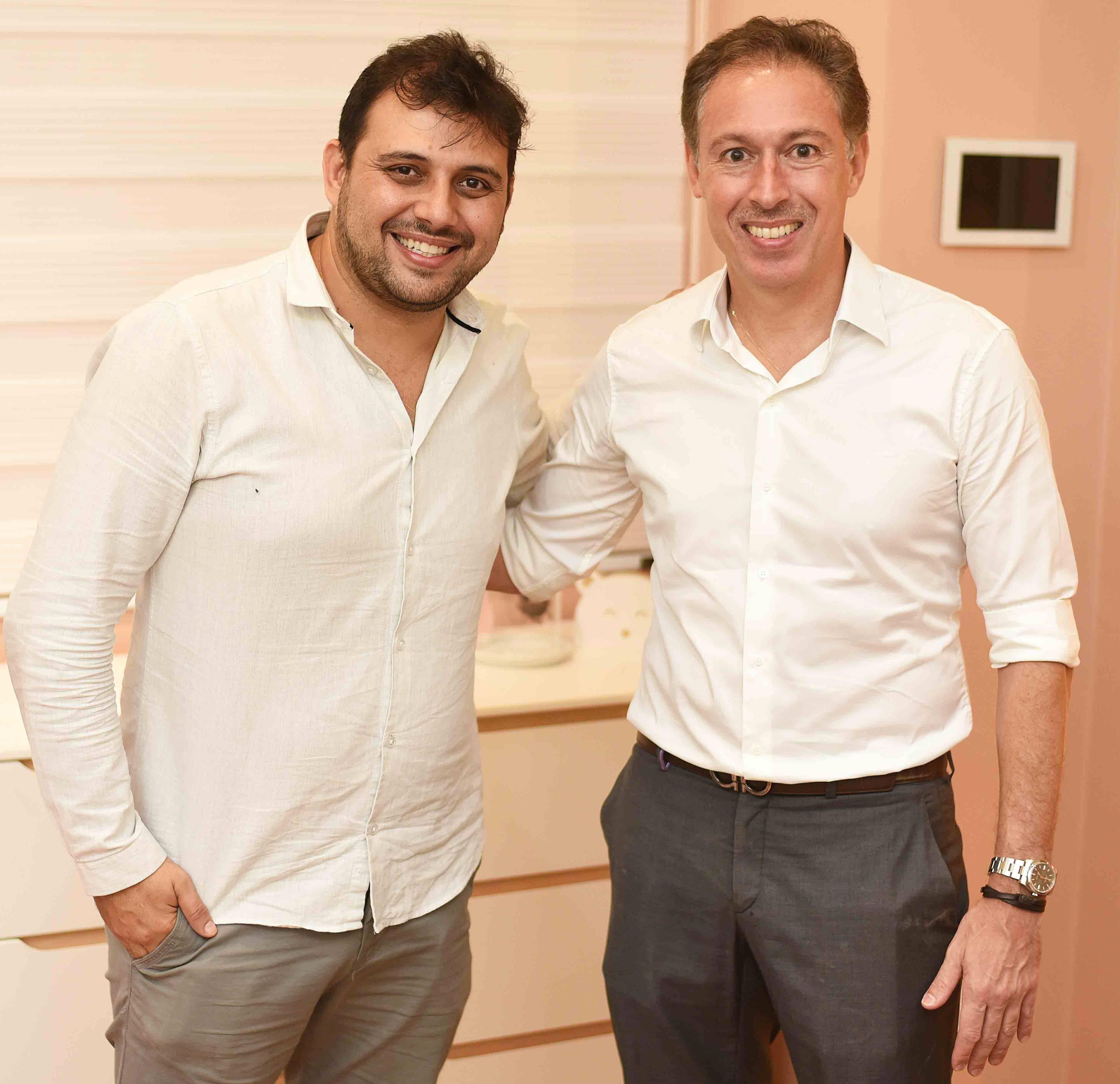 Clóvis Alvarenga e Sandro Schuback /Foto: Ari Kaye