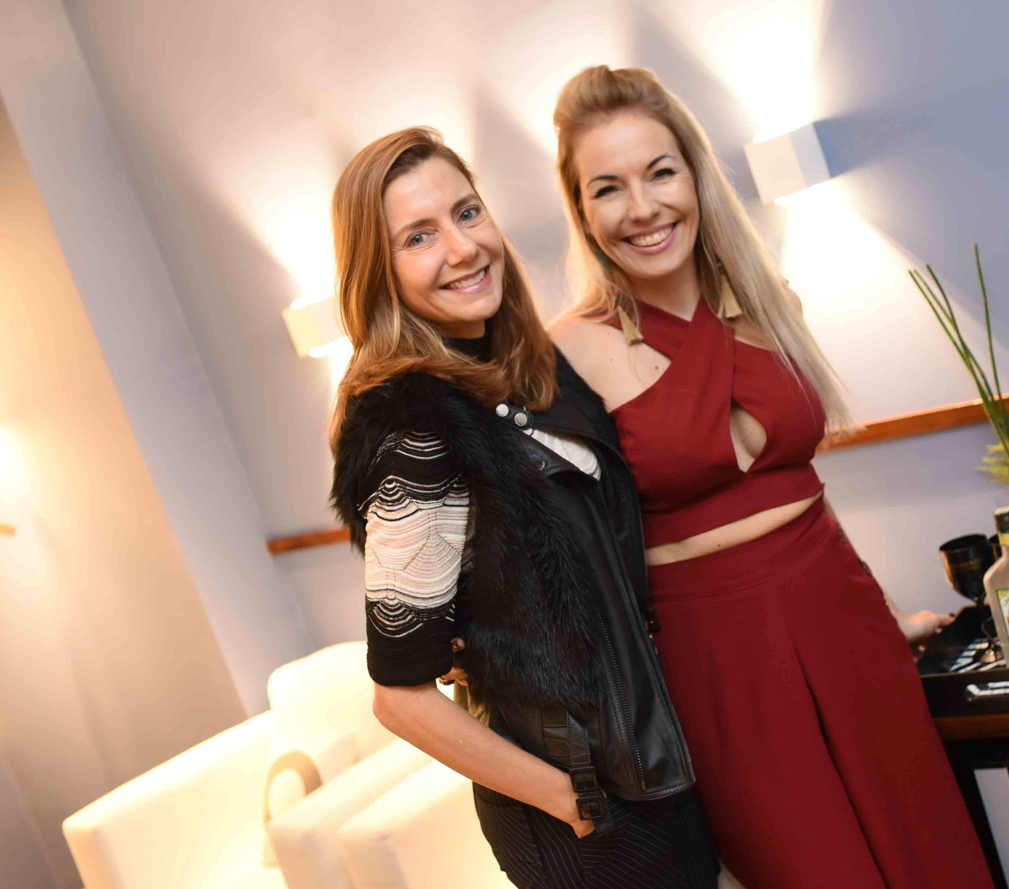 Fernanda Marcolini e Sandra Staffa /Foto: Ari Kaye