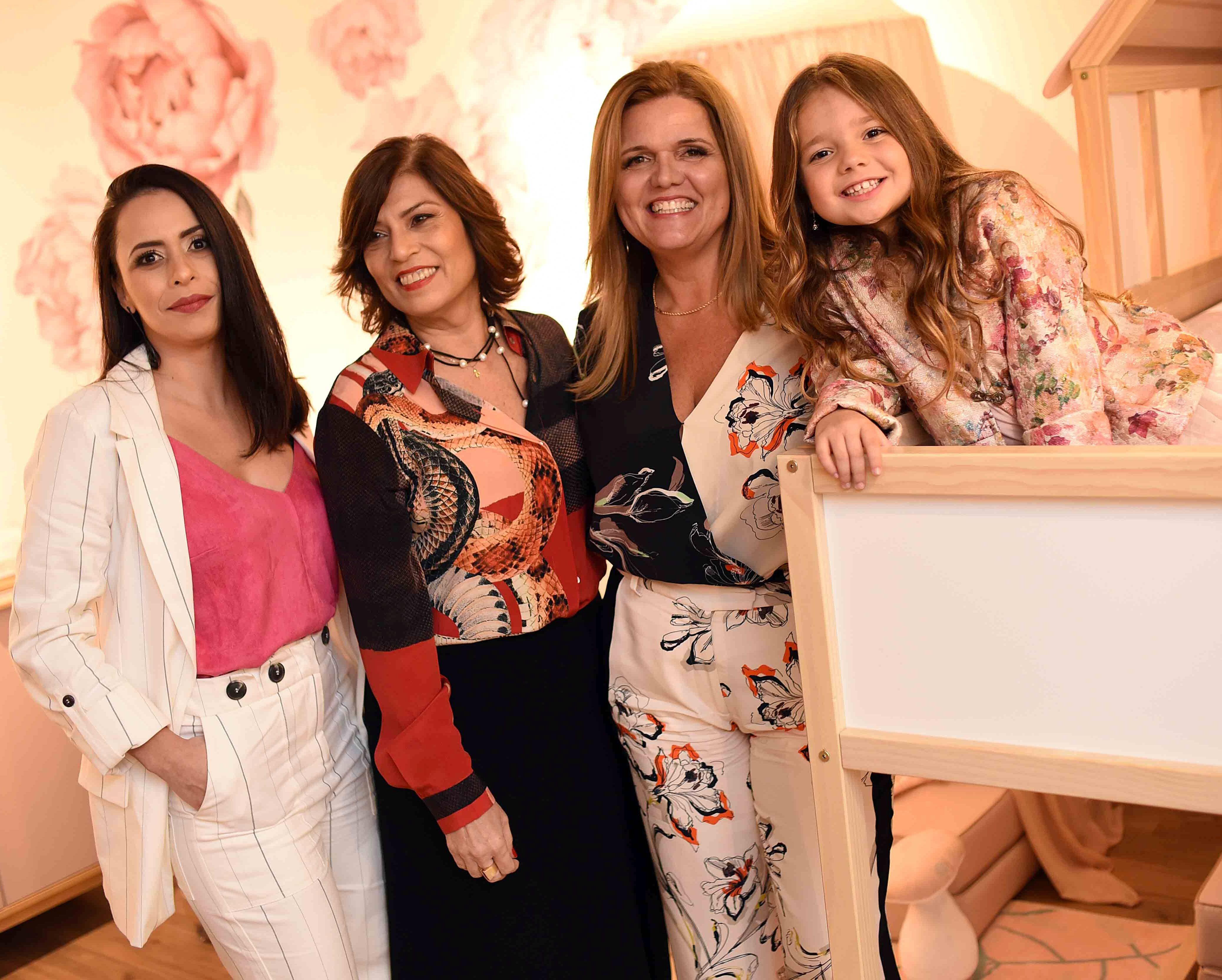 Karla Stephen, May Lee, Sandra Ribeiro e Cléo Faria /Foto: Ari Kaye