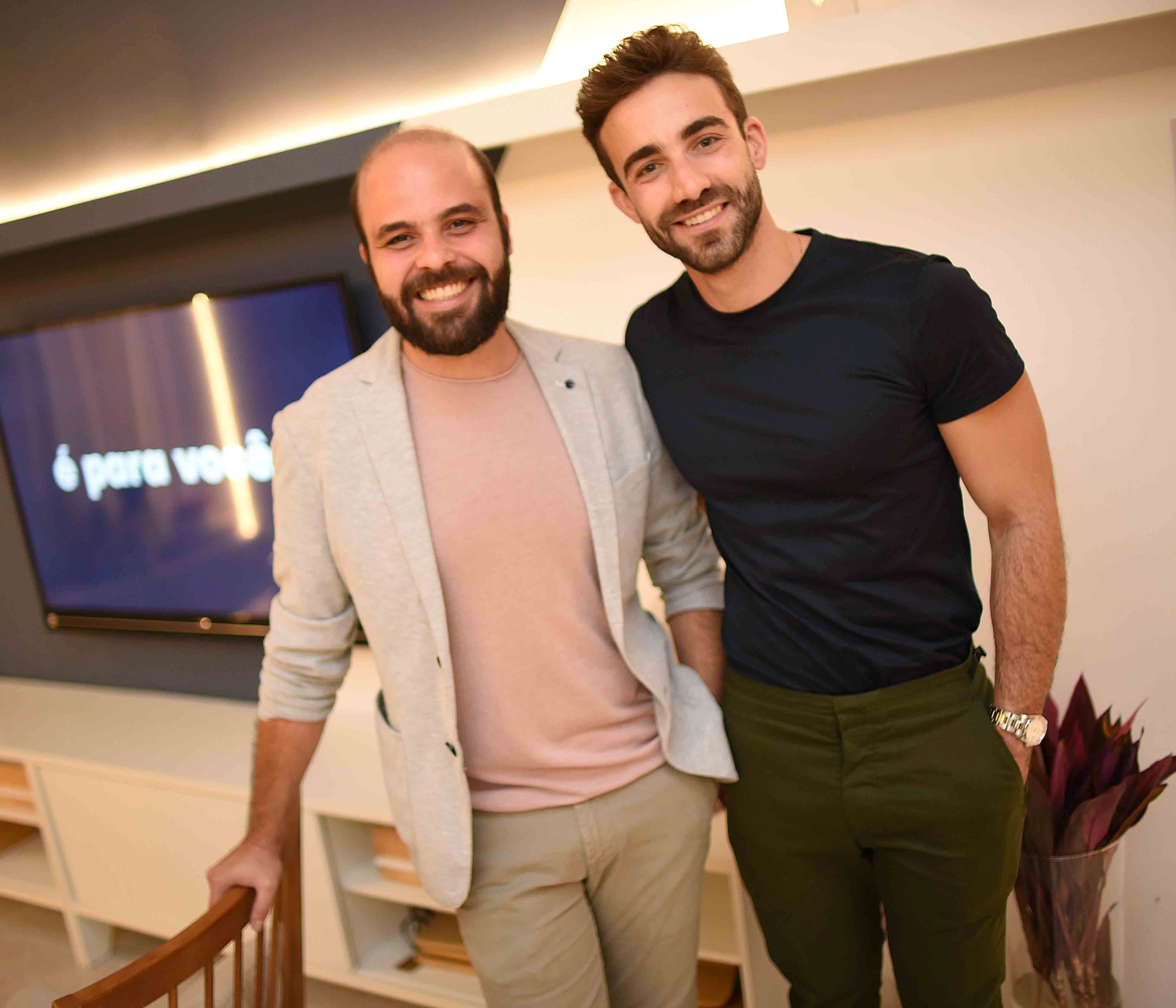 Leandro Neves e Gregory Copello /Foto: Ari Kaye