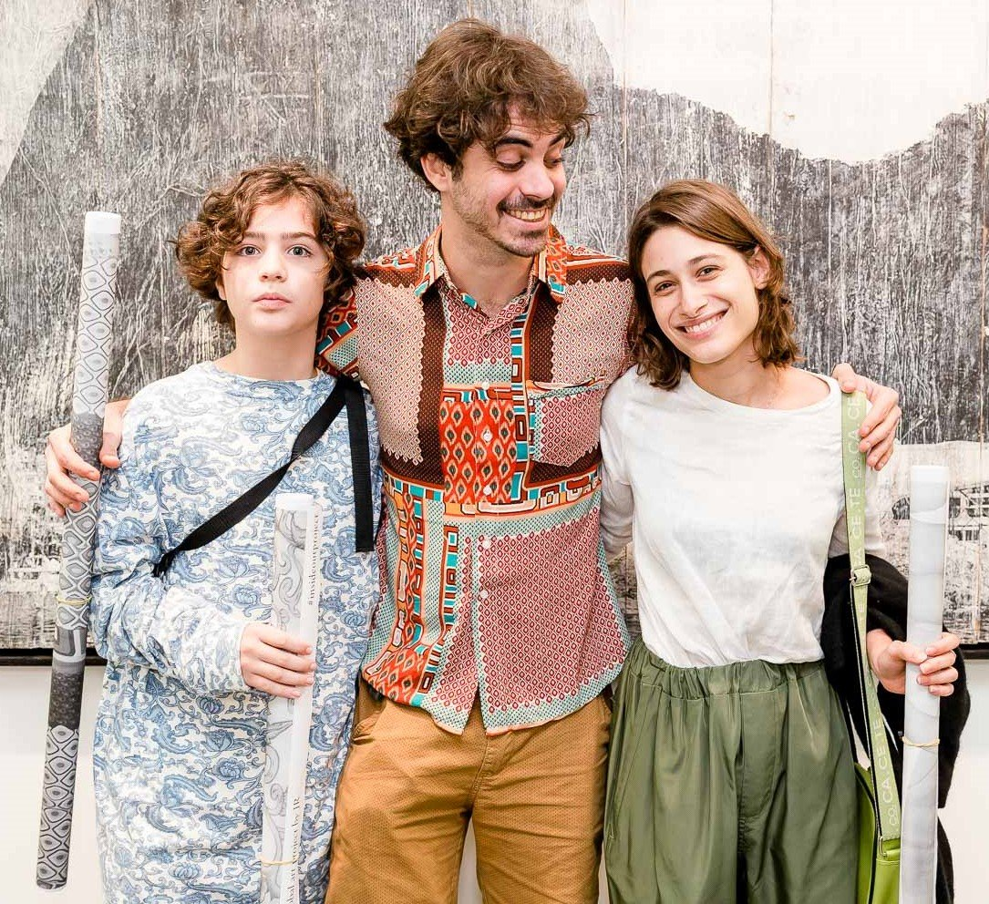 João Jabor Arraes, Bernardo Valença e Luisa Arraes  /Foto: Bruno Ryfer