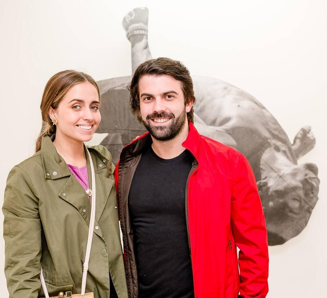 Luisa Schroder e Bernardo Leão  /Foto: Bruno Ryfer