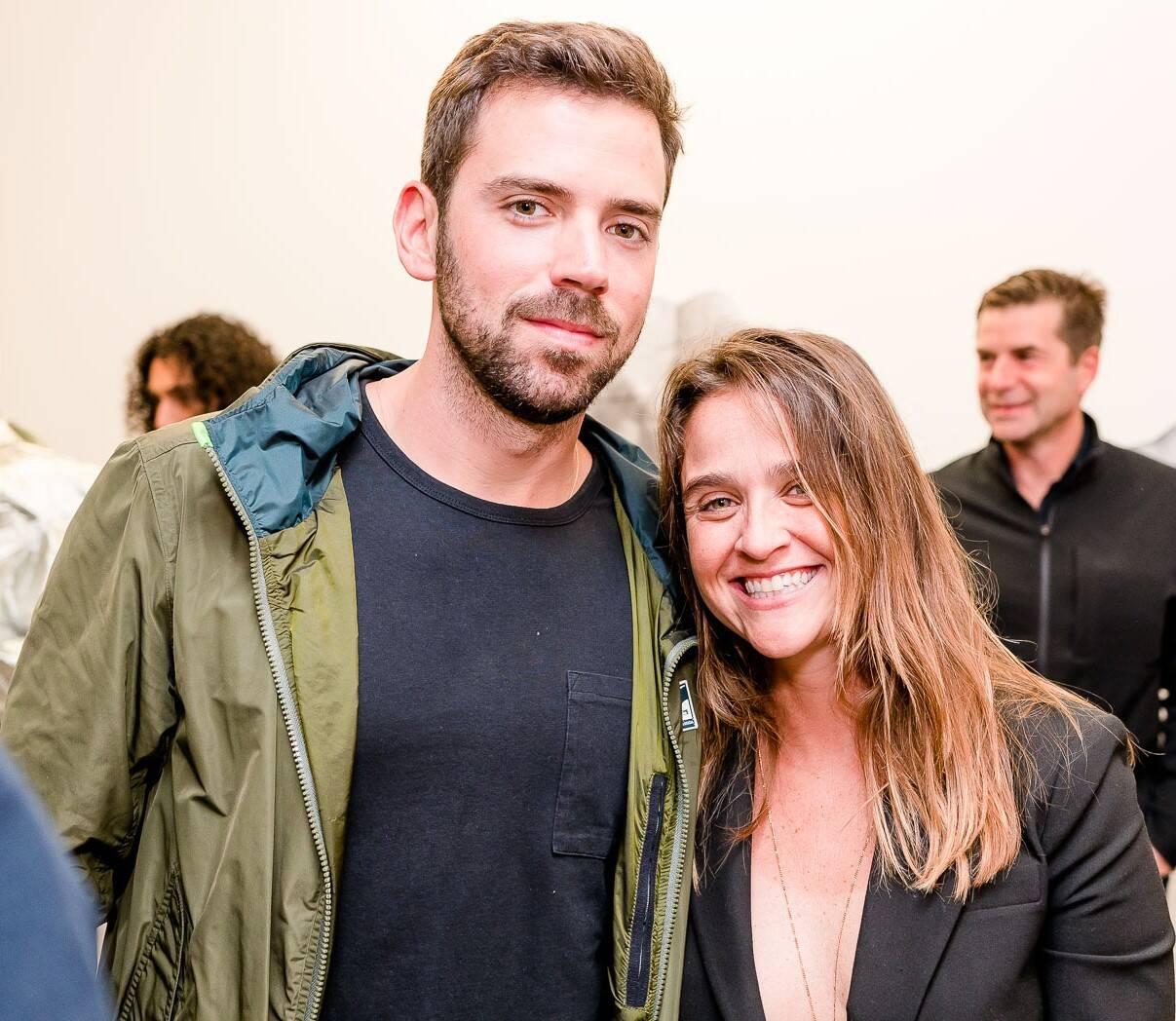 Antonio Palhares  e Maria Teixeira de Mello  /Foto: Bruno Ryfer