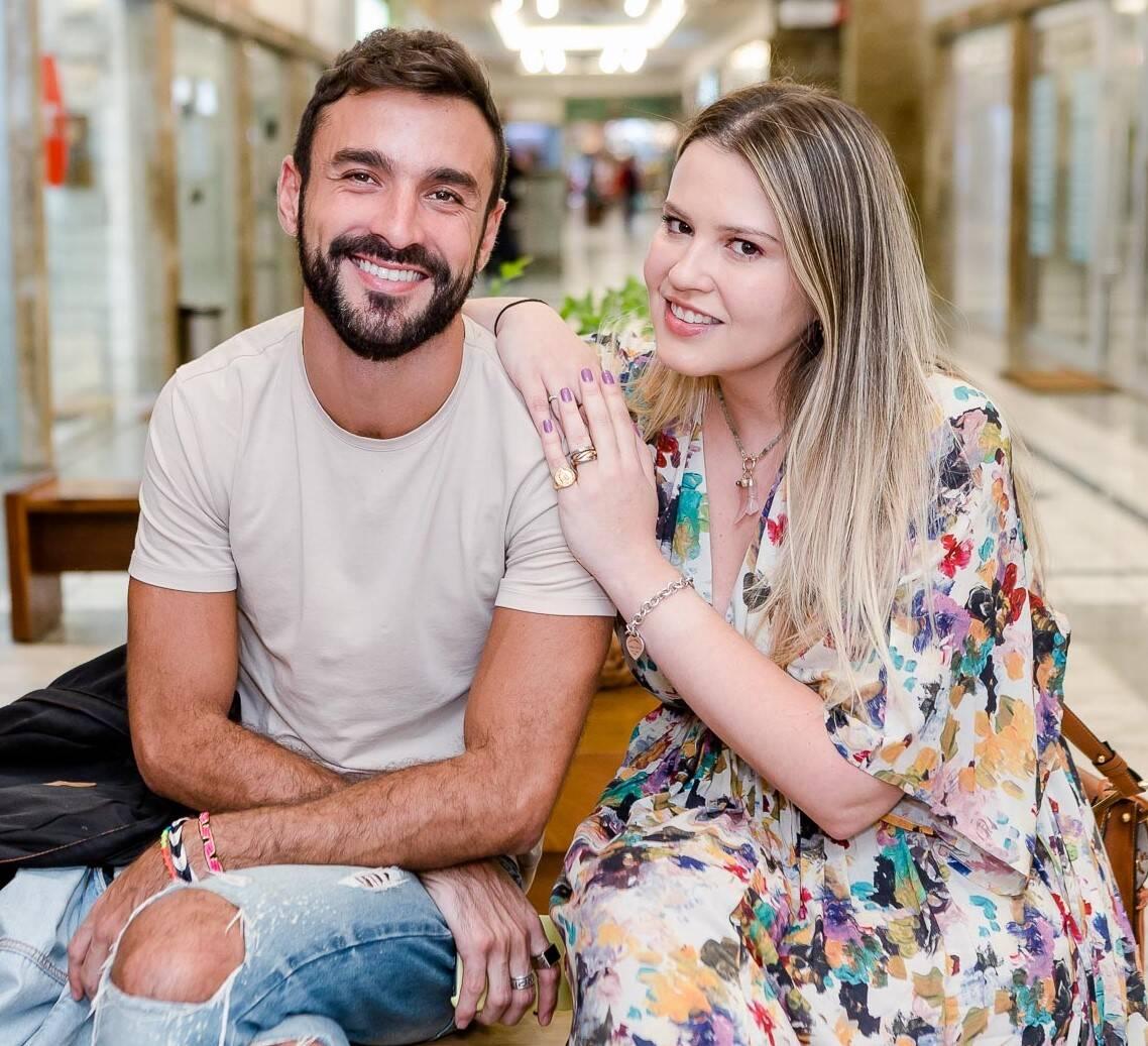 Fê Santos e Aline Moniz /Foto: Bruno Ryfer