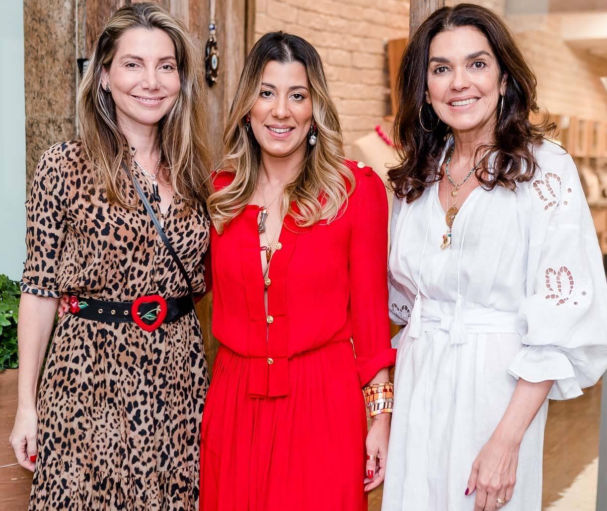 Renata Reis, Manu Bragança e  Beth Accurso /Foto: Bruno Ryfer
