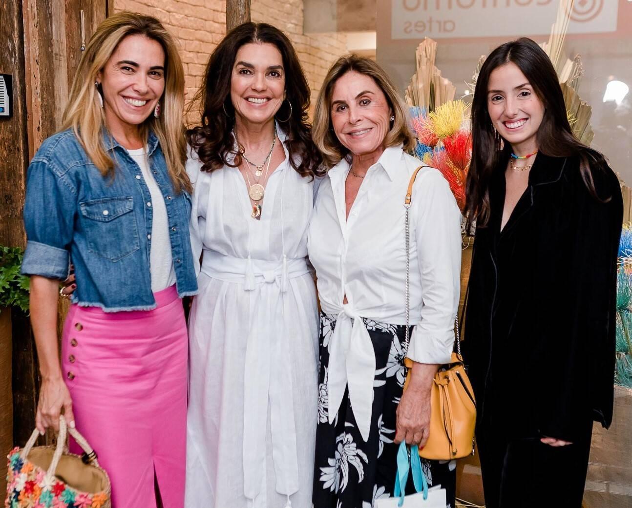 Rita Secchin, Beth Accurso, Marcia Solera e Maria Antonia Ferraz /Foto: Bruno Ryfer