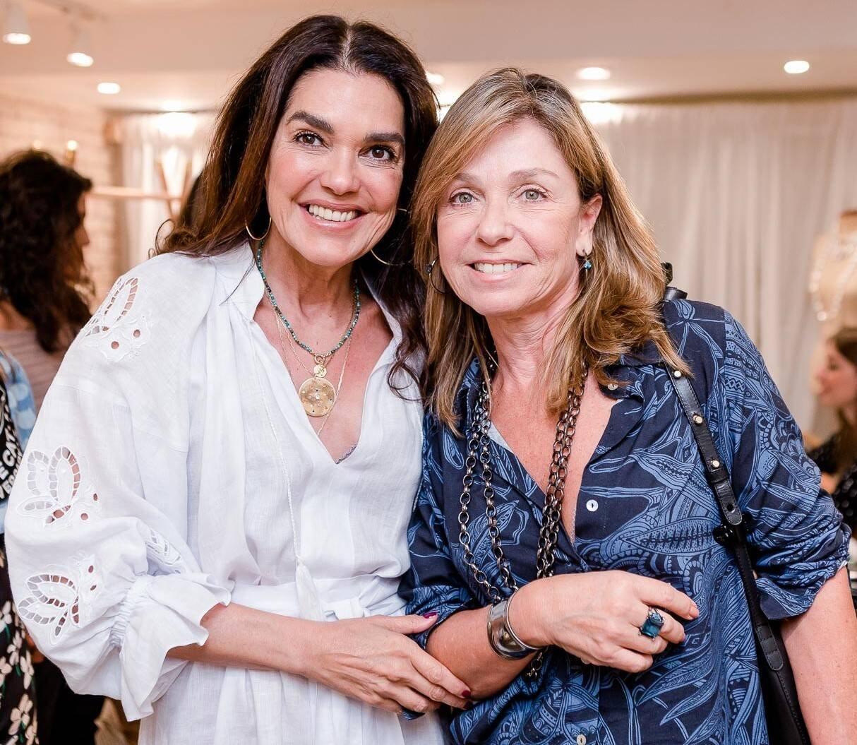 Beth Accurso e Luciana Pereira da Silva /Foto: Bruno Ryfer
