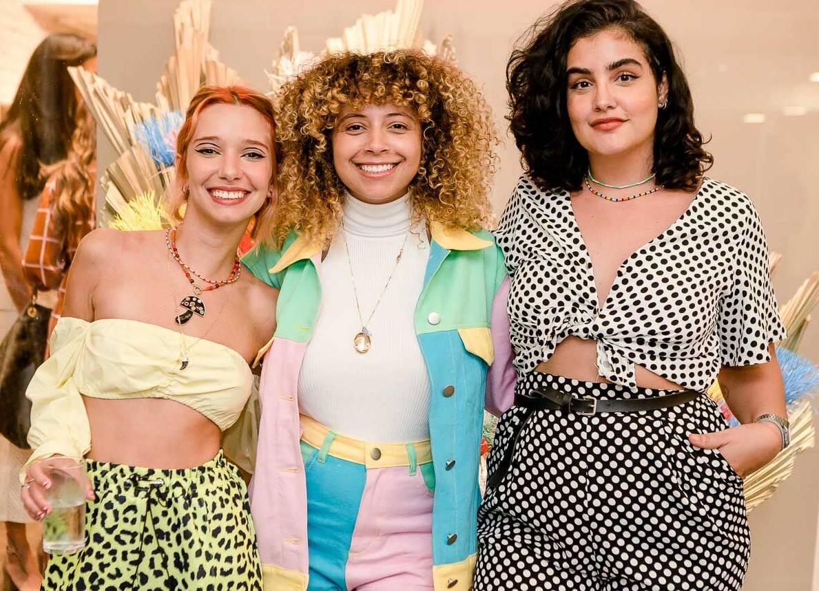 Chica Capeto, Roberta Campos e Brenda Herminia /Foto: Bruno Ryfer