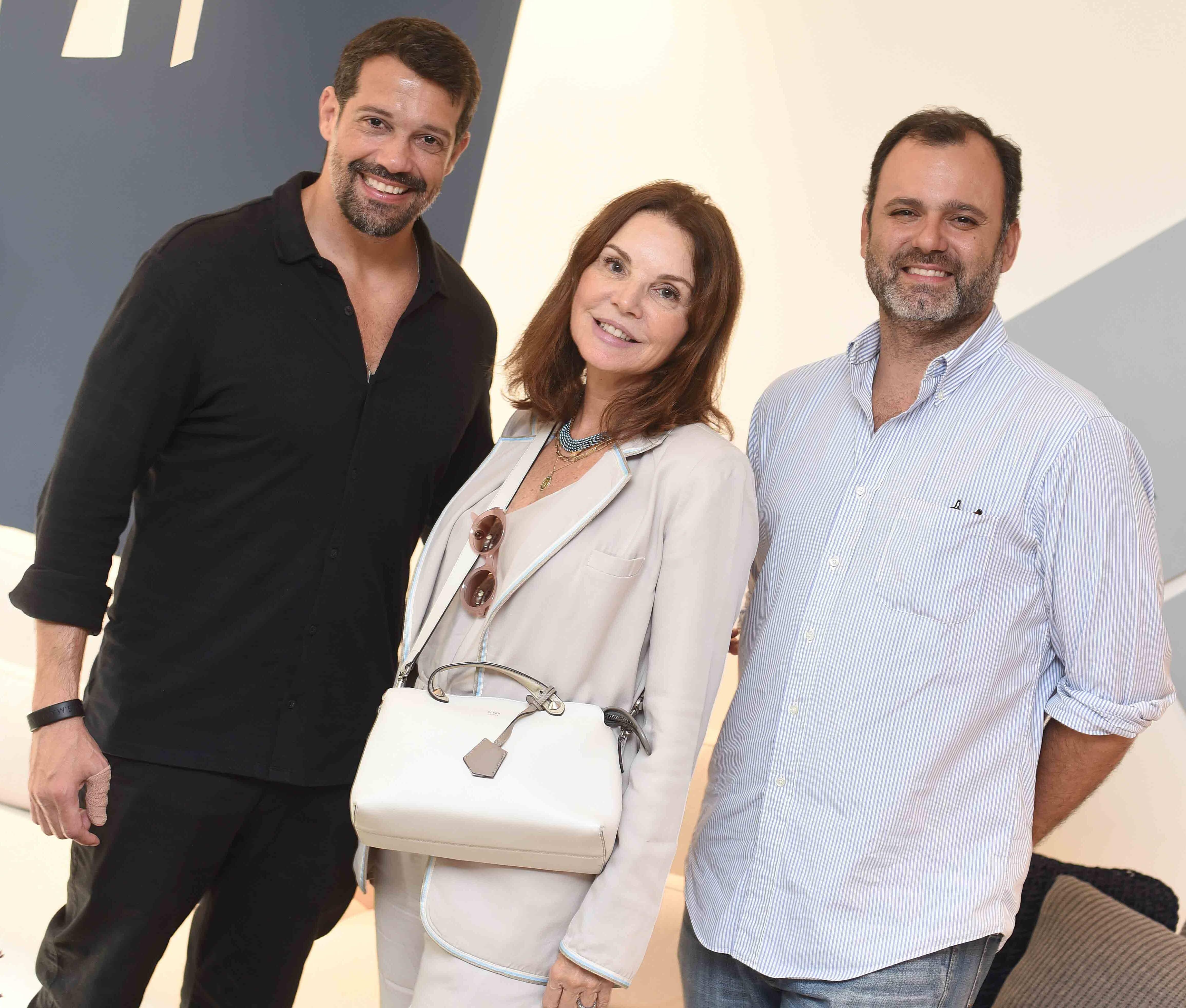 Alexandre Pazzini, Patricia Mayer e Erick Figueira de Mello /Foto: Ari Kaye