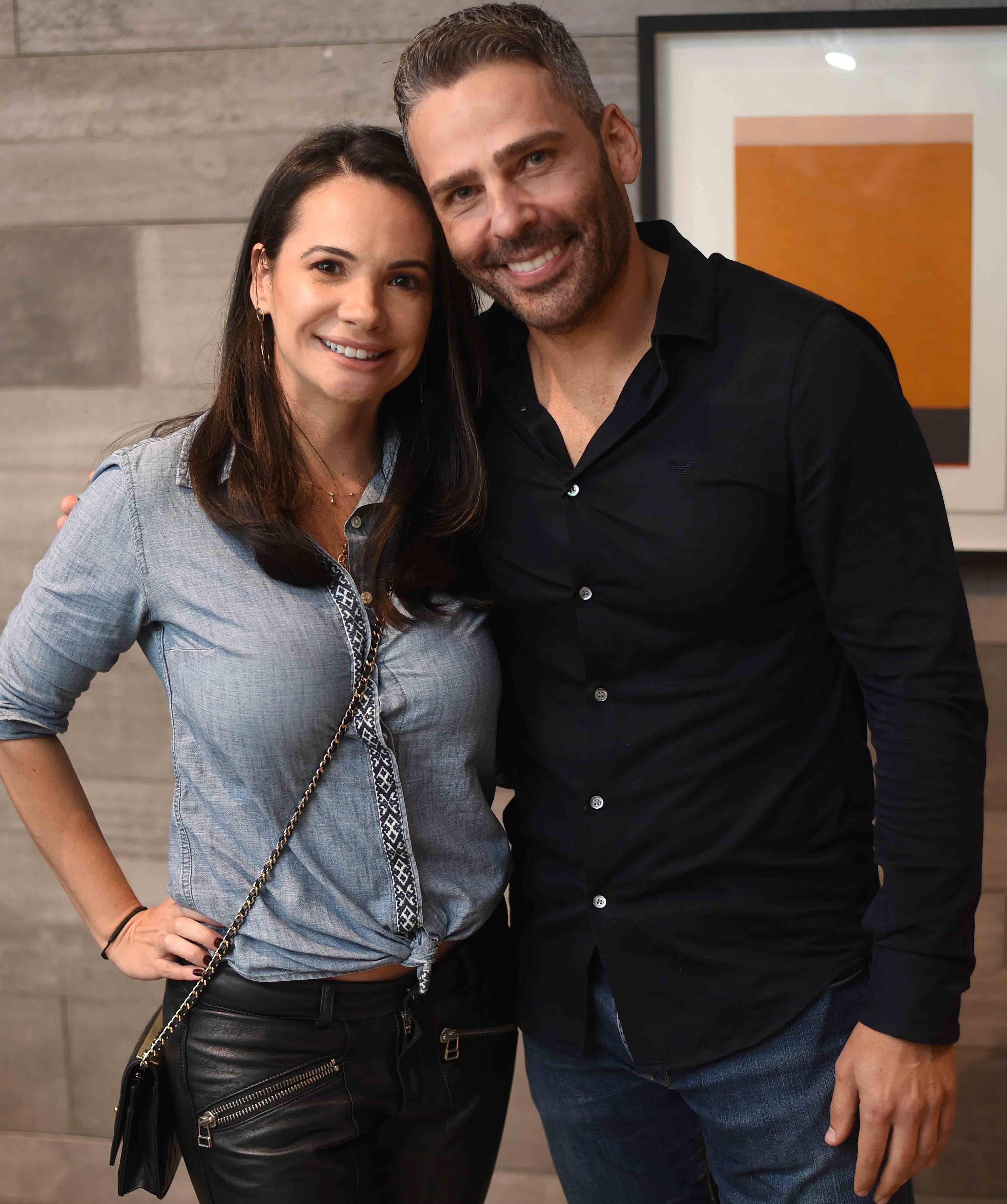 Leila Dionizios e Fabio Vigorito  /Foto: Ari Kaye