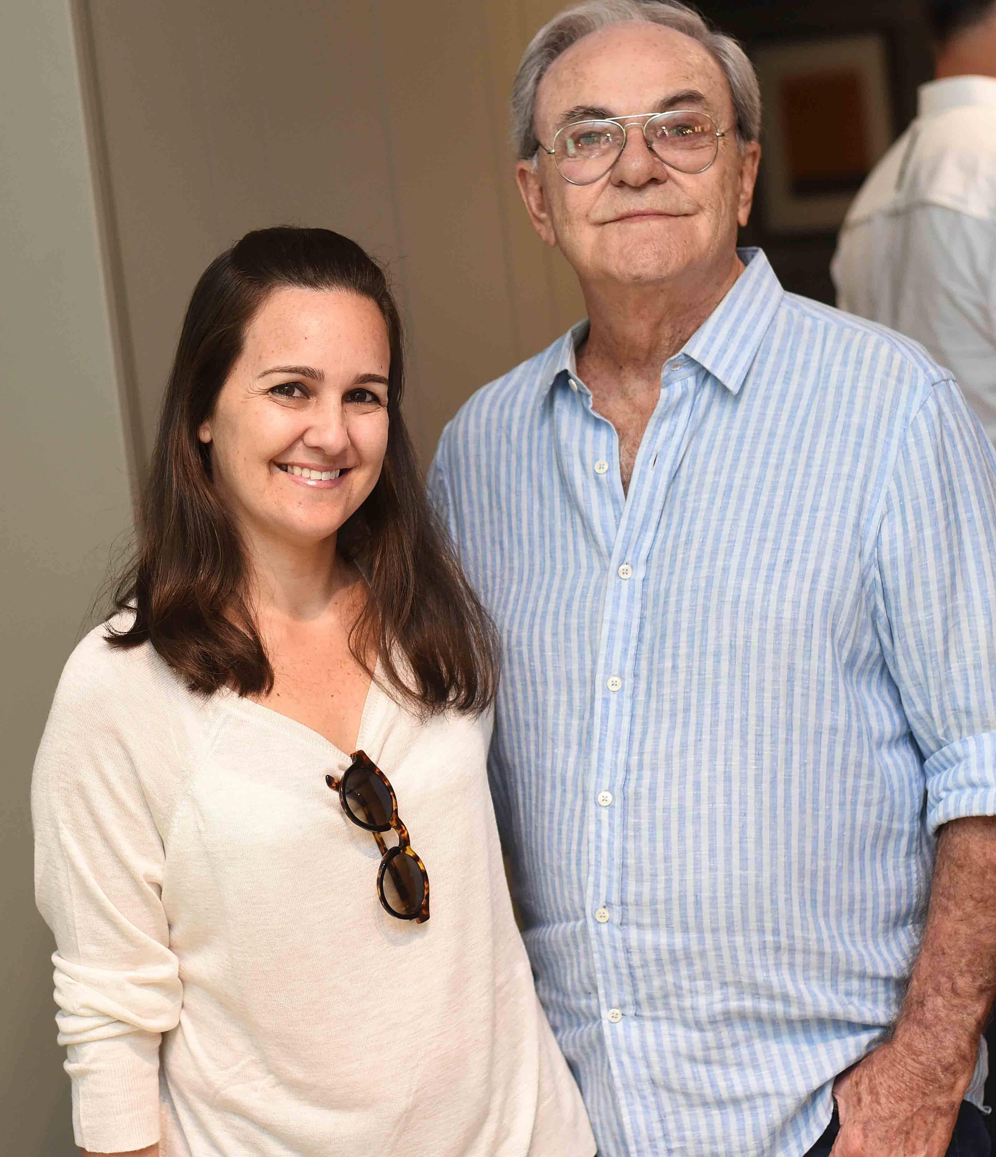 Lia e Geraldo Lamego  /Foto: Ari Kaye