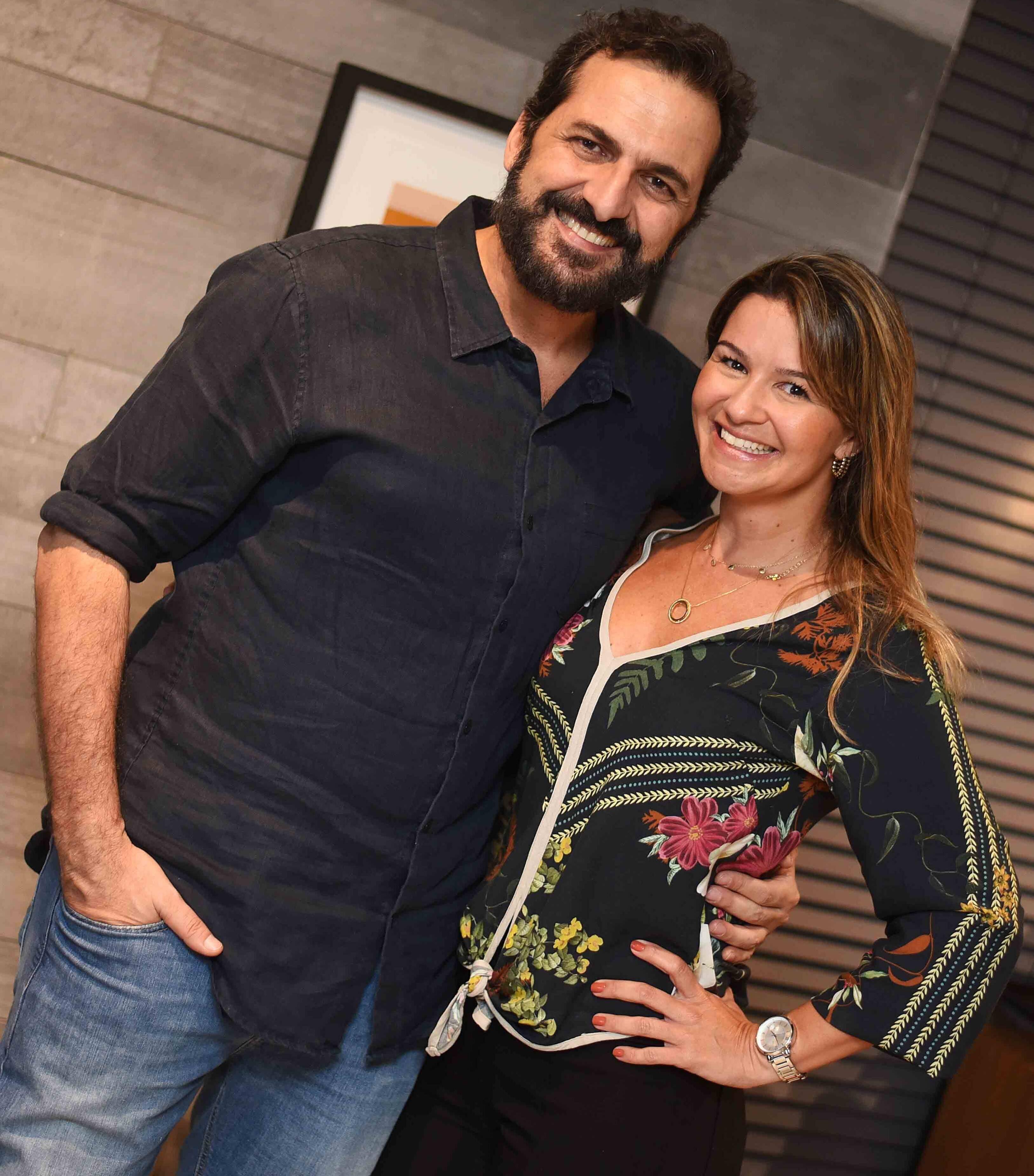 Marcelo Dadoorian e Patricia Netto  /Foto: Ari Kaye