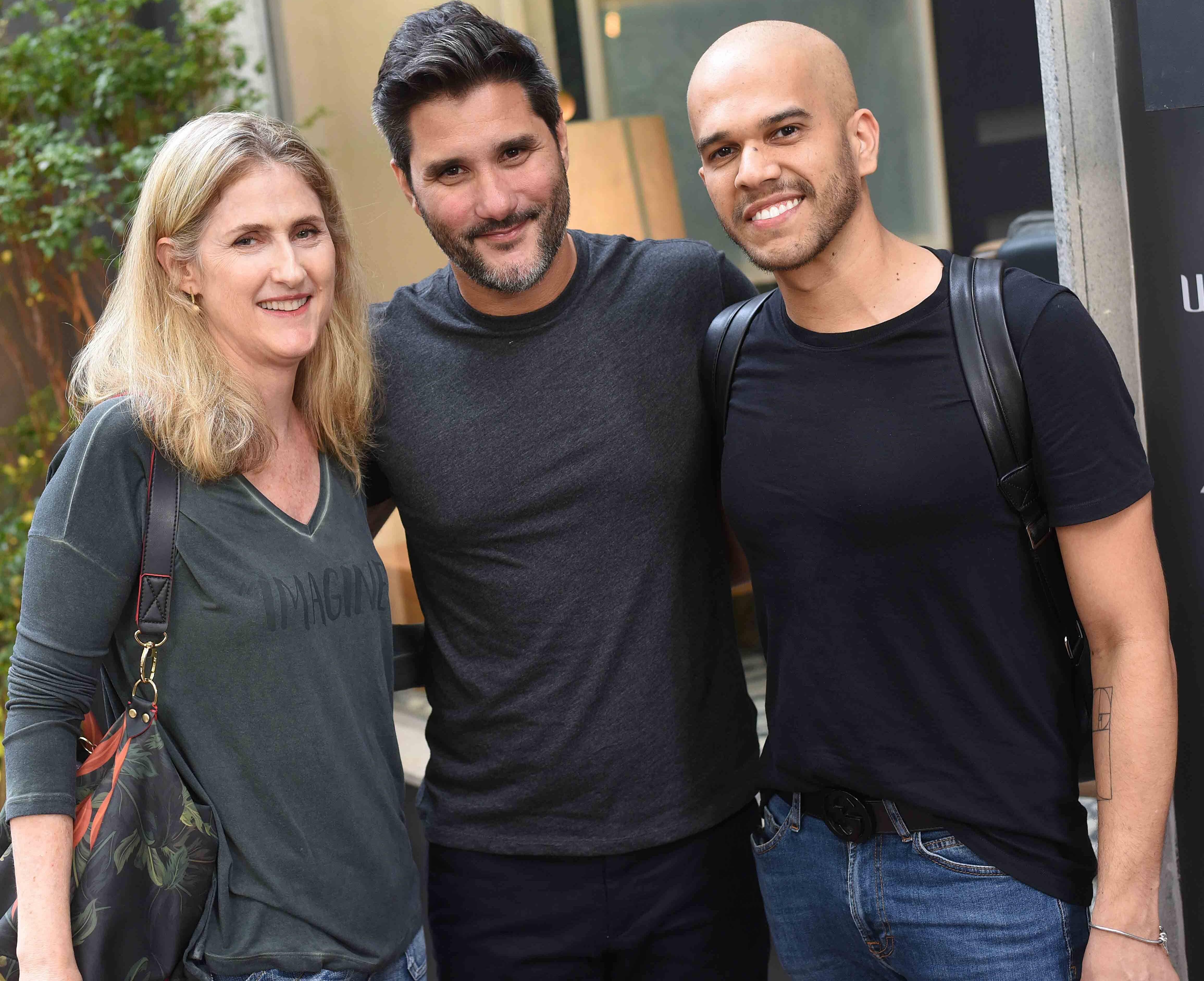 Marise Kessel, Fabio Bouillet e Jefferson Stunner  /Foto: Ari Kaye