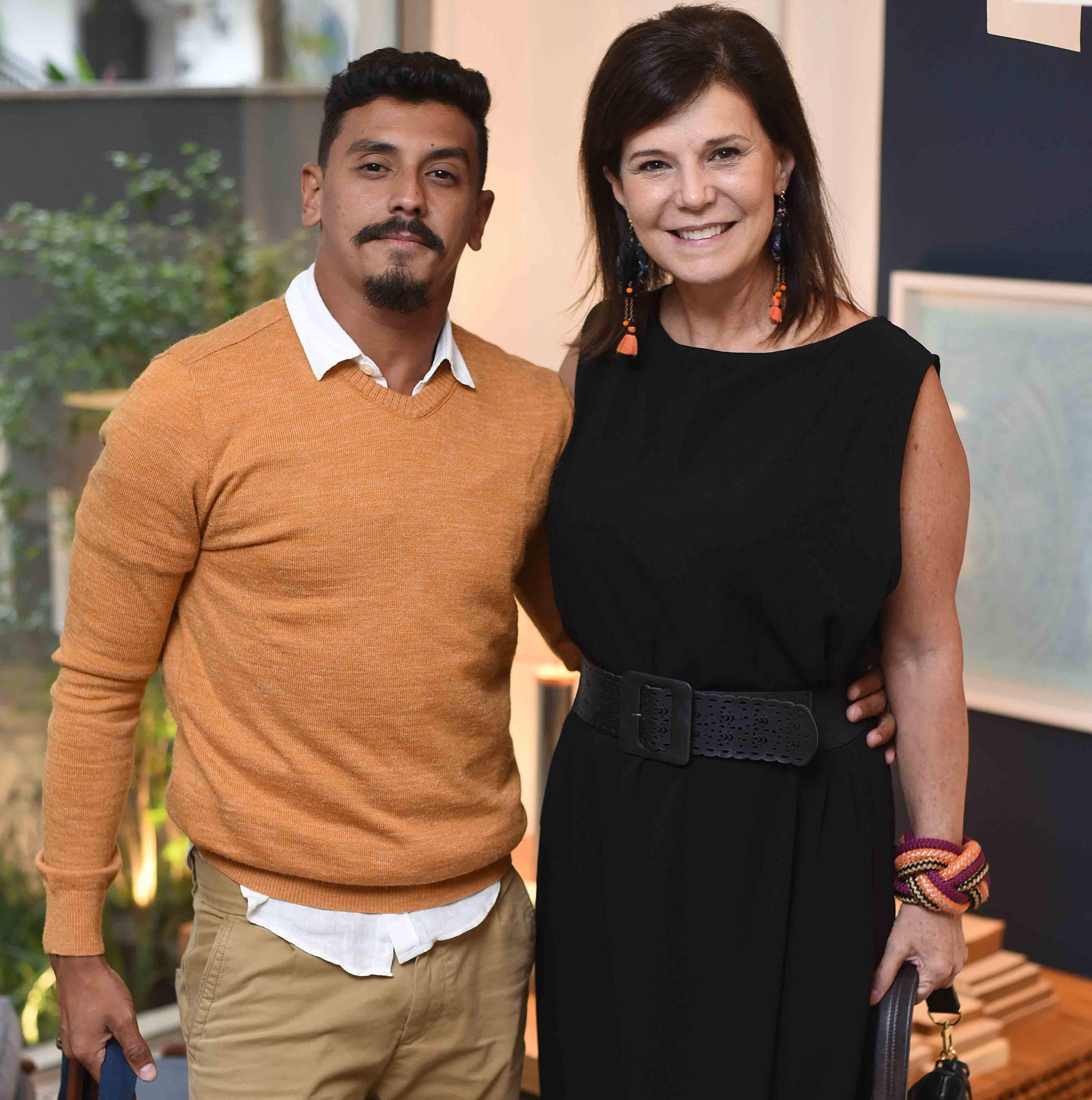 Preto Viana e Paula Neder  /Foto: Ari Kaye