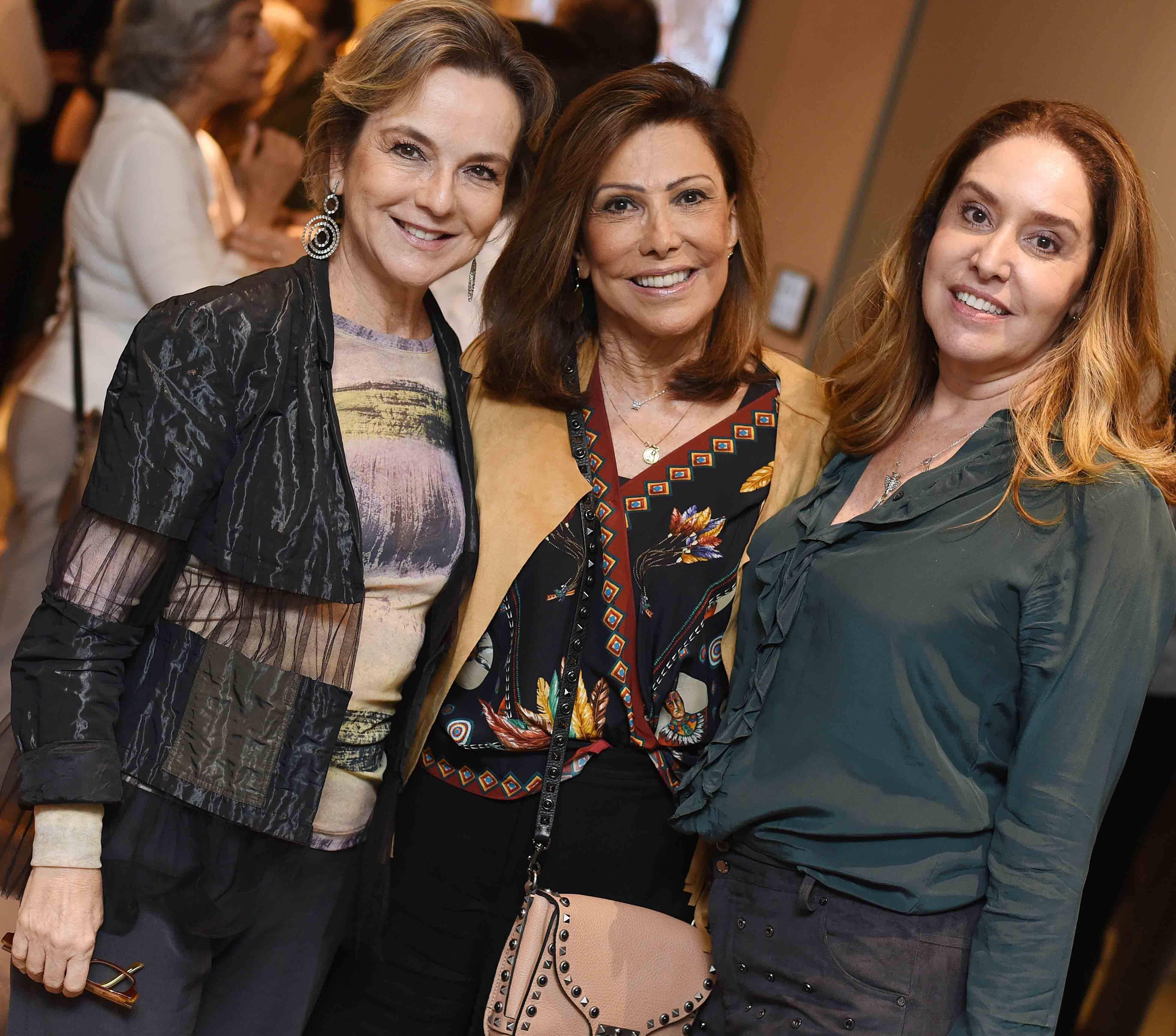 Bia Lettiere, Anna Luiza Rothier e Anna Malta  /Foto: Ari Kaye