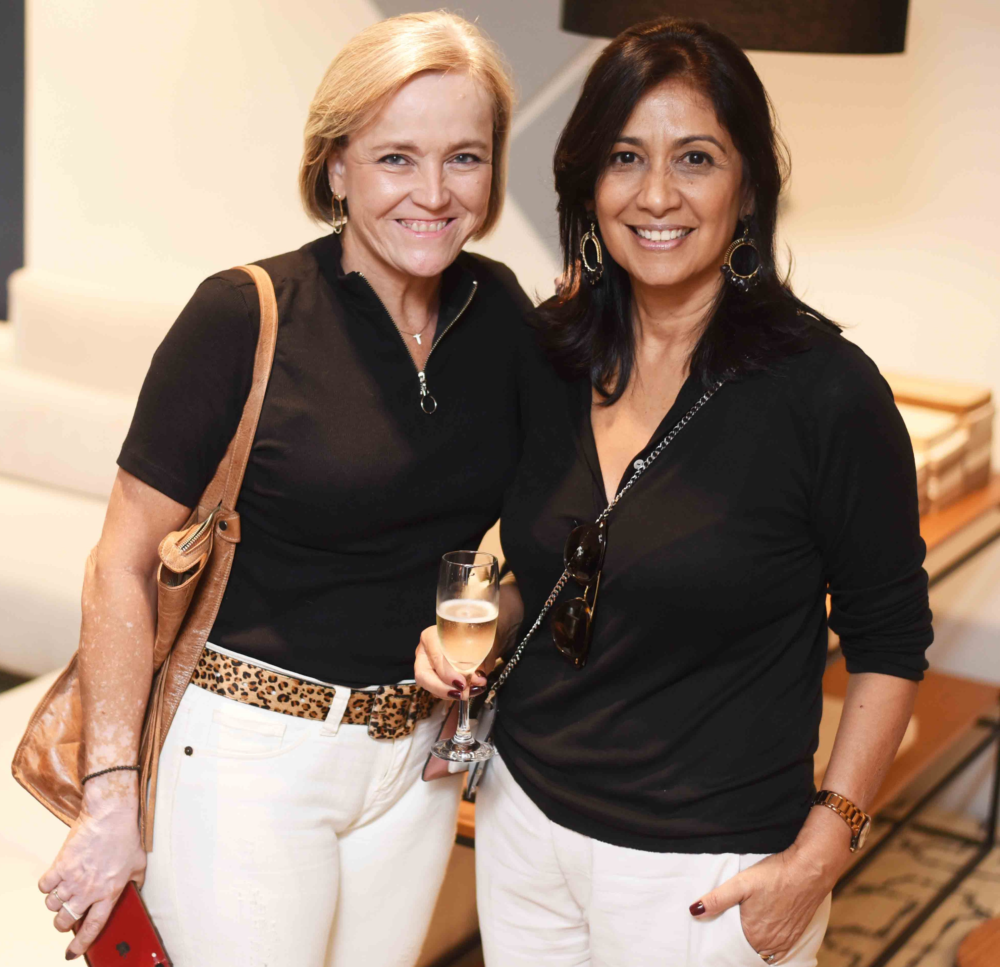 Rosa Maria Prado e Iolanda Vieira  /Foto: Ari Kaye