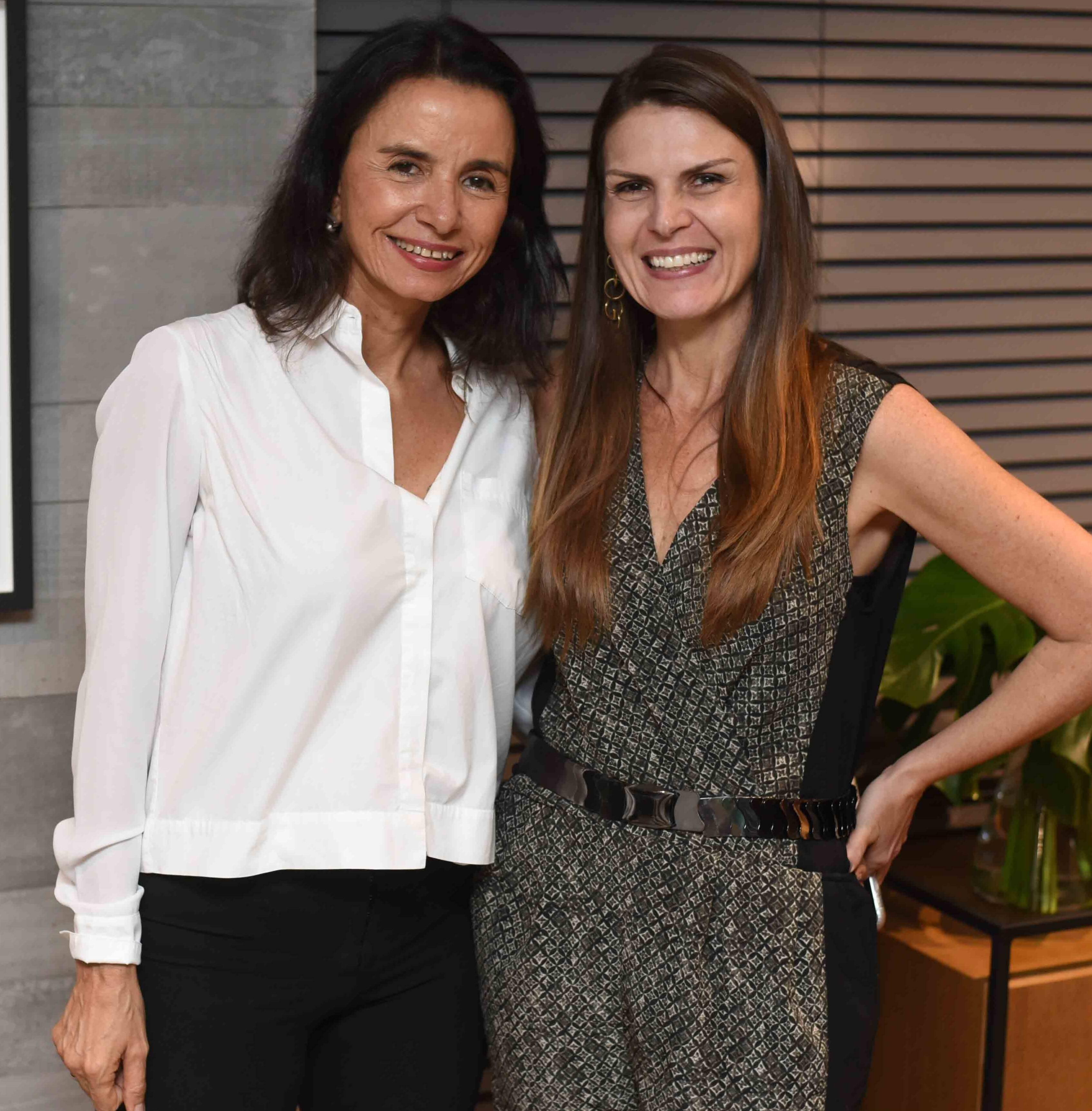 Vera Rebello e Claudia Herszenhaut  /Foto: Ari Kaye