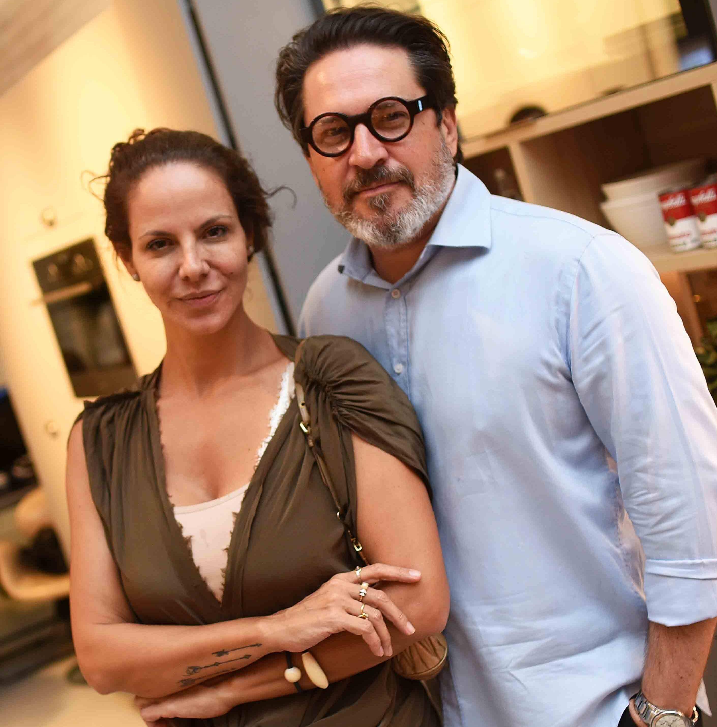 Carolyna Vaz e Celso Rayol  /Foto: Ari Kaye