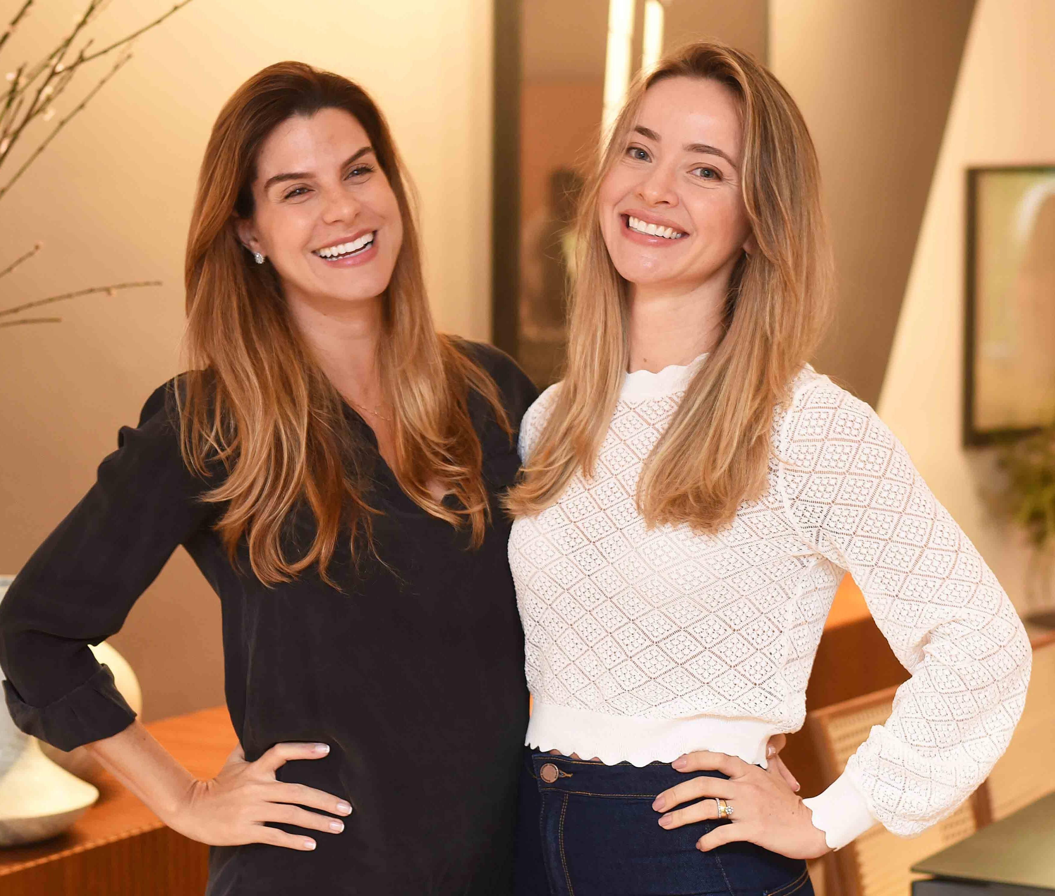 Cinthia Monnerat e Rafaella Murbach  /Foto: Ari Kaye