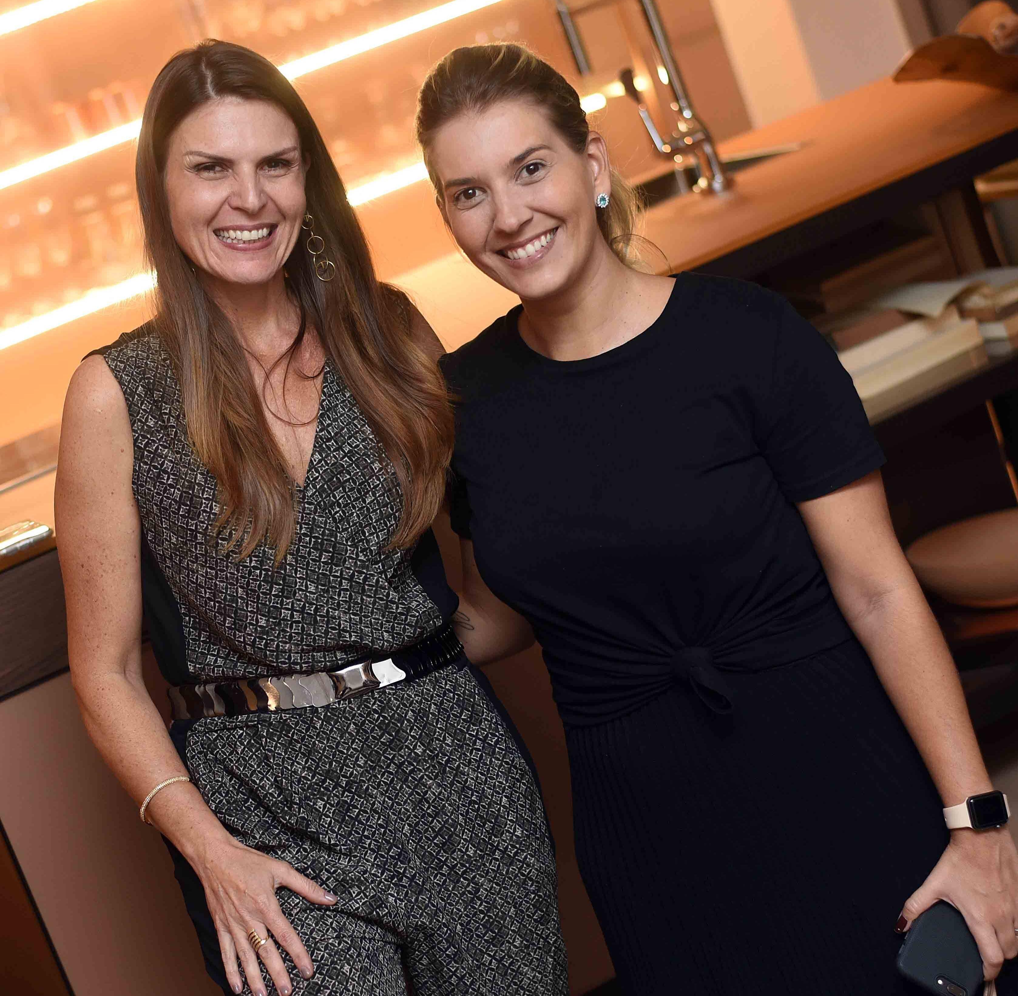 Claudia Herszenhaut e Carol Freitas  /Foto: Ari Kaye