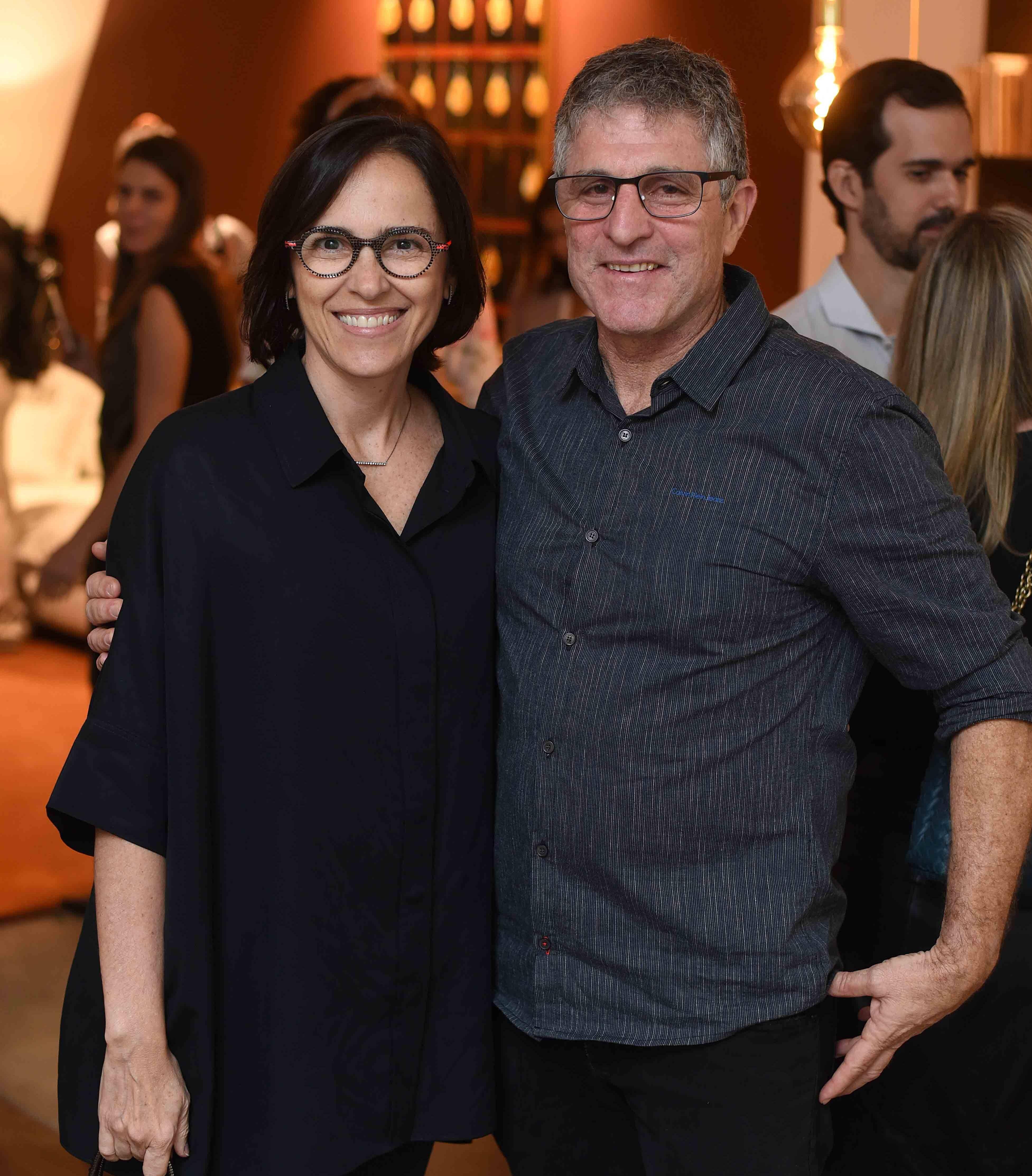 Gisele Taranto e Jaime Herszenhaut  /Foto: Ari Kaye