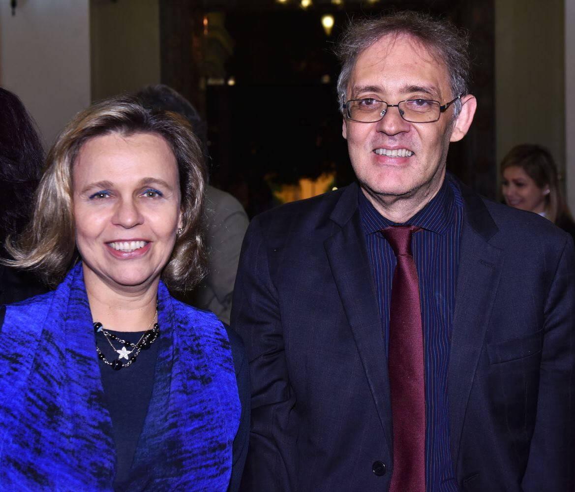Maria Eduarda Marques e Marco Lucchesi