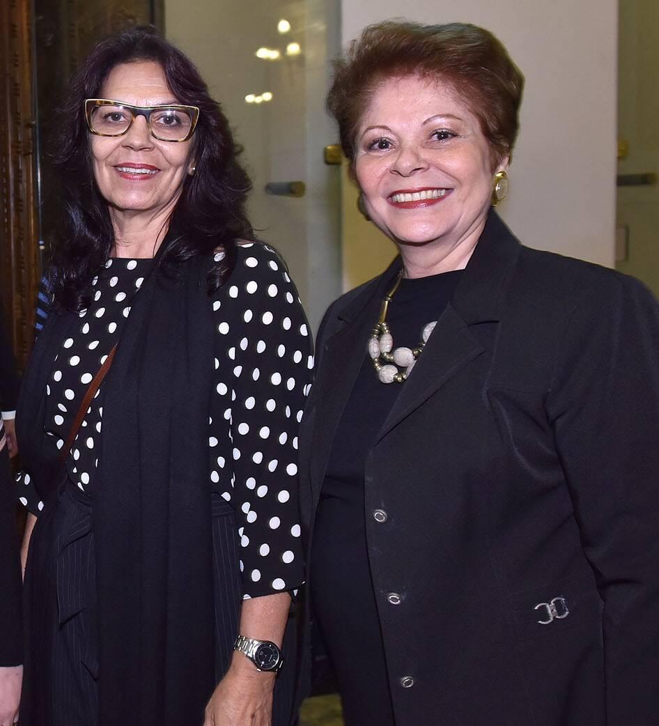 Suely Dias e Célia Portella