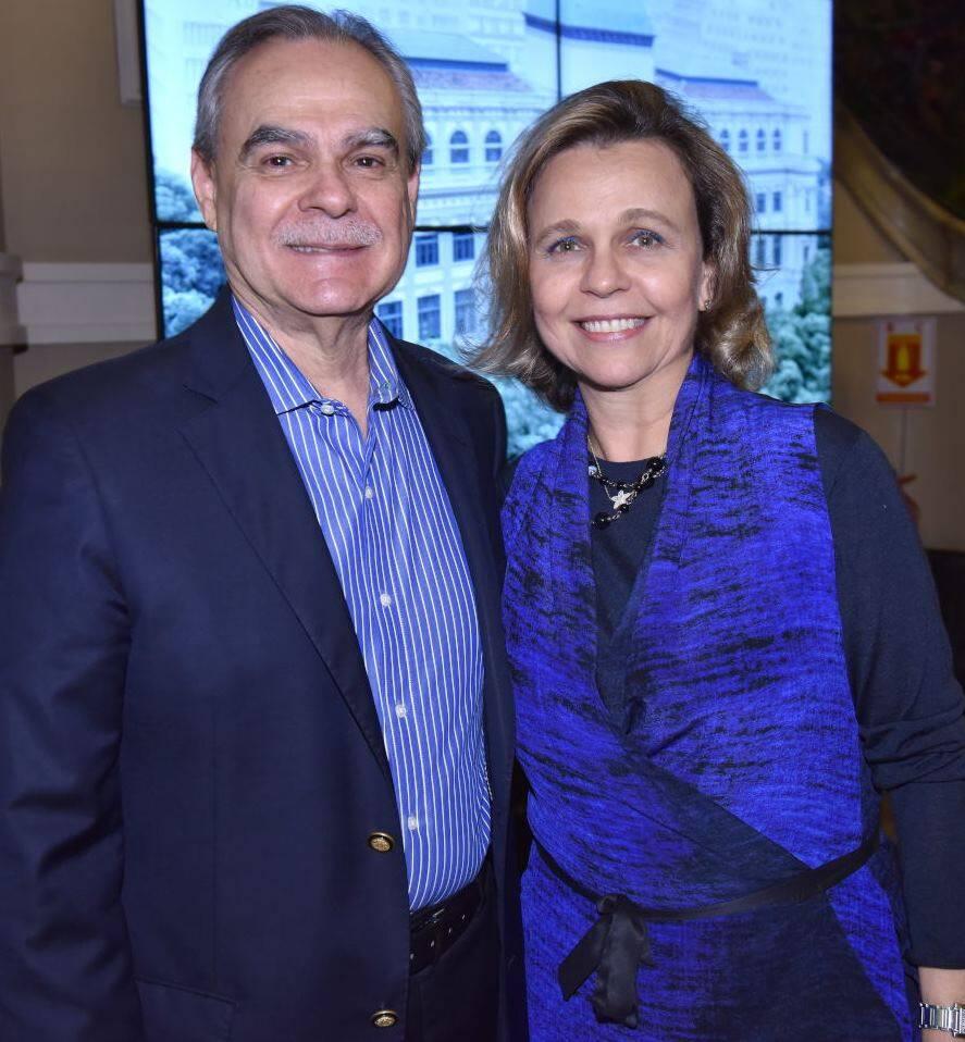 Max Perlingeiro e Maria Eduarda Marques