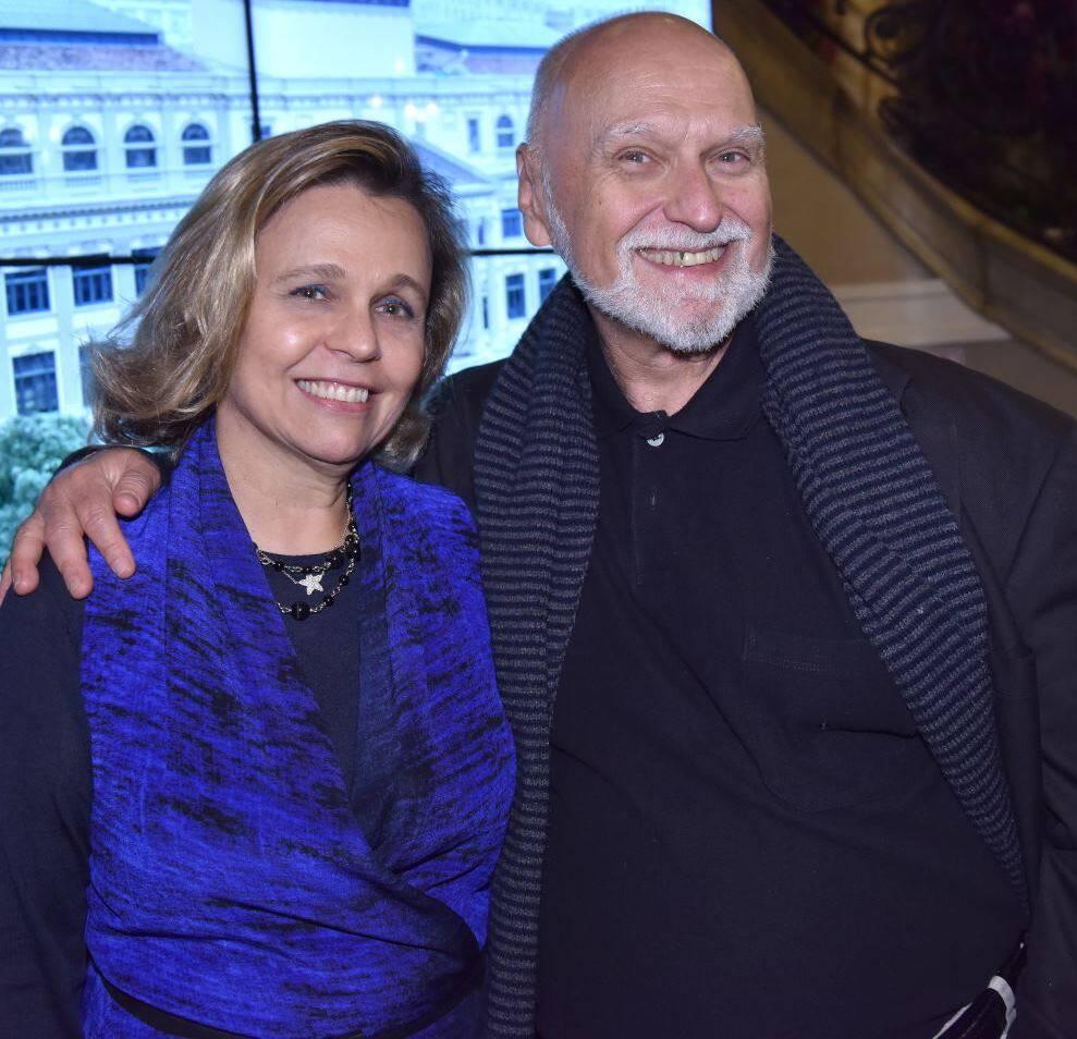 Maria Eduarda Marques e Carlos Fernando de Andrade