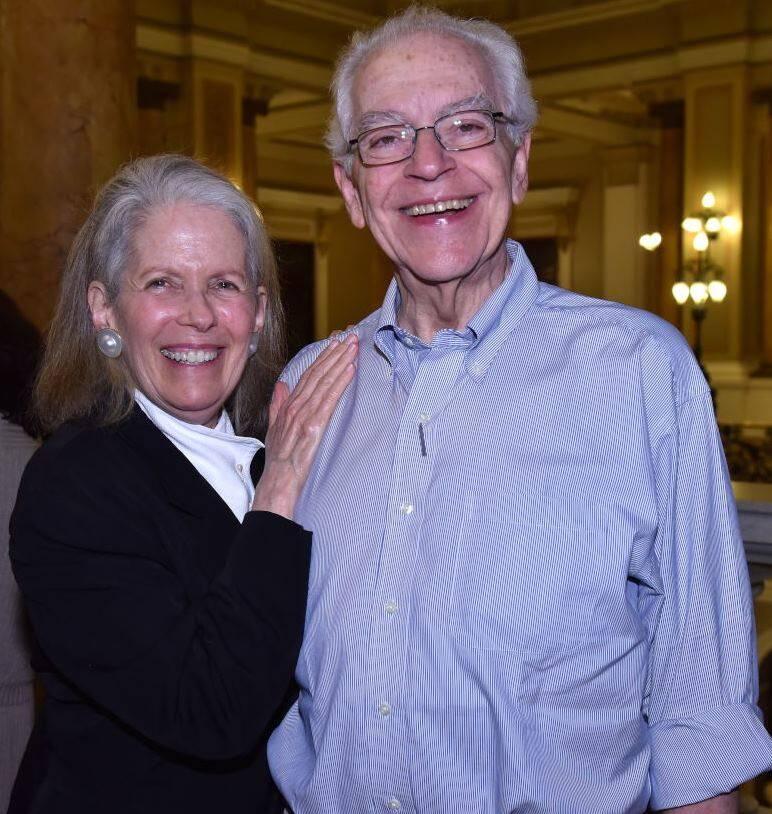Nancy Hartstein Borges e Paulo Bertazzi