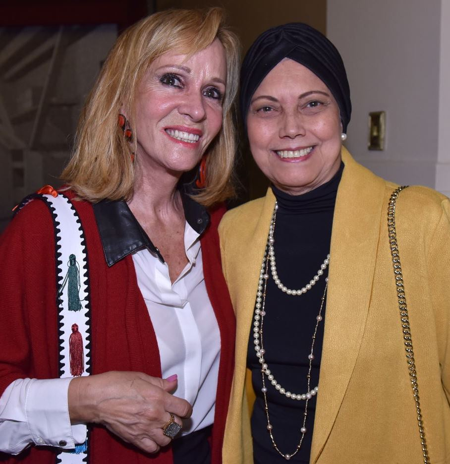 Zizi Magalhães e Rosária Filqueiras