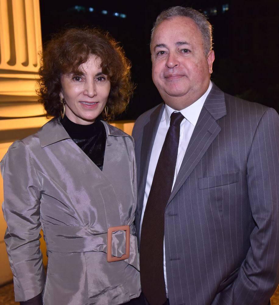 Rosana Lanzelotte e Roberto Padilha