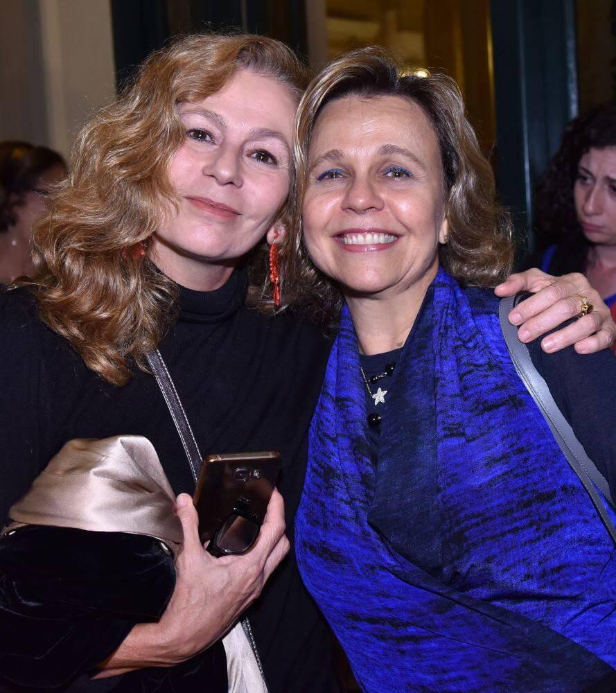 Bia Jaguaribe e Maria Eduarda Marques
