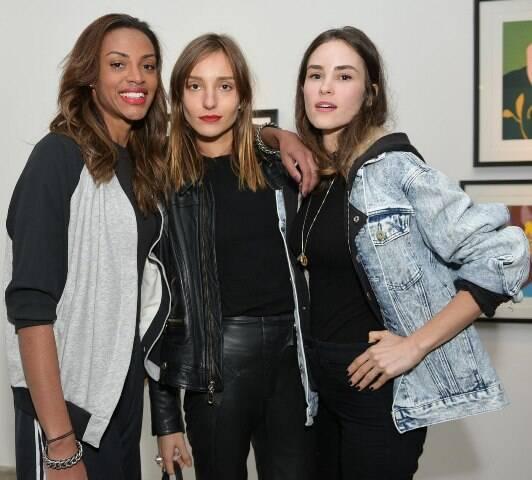 Anabela Santos, Isabel Hickman e Gabi Rabelo