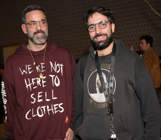 Marcelo Sommer e Luiz Monteiro