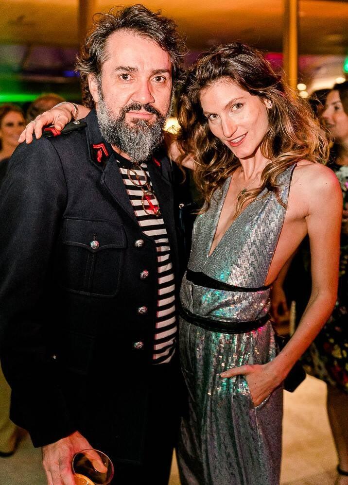Beto Silva e Nina Paccaud /Foto: Bruno Ryfer