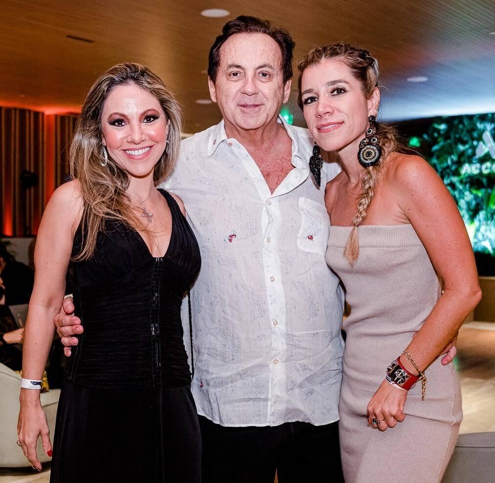 Alessandra Amaral, Ricardo Rique e Fernanda Capobianco /Foto: Bruno Ryfer