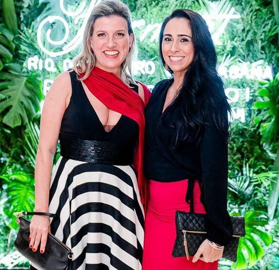 Clarissa Desterro e Giuliana Sirena /Foto: Bruno Ryfer