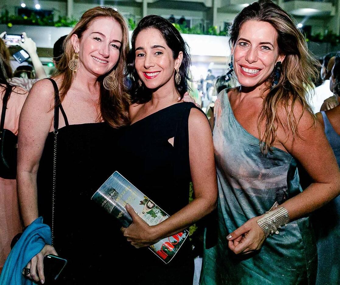 Daniela Fizspan, Antonia Leite Barbosa e Luiza Bomeny /Foto: Bruno Ryfer