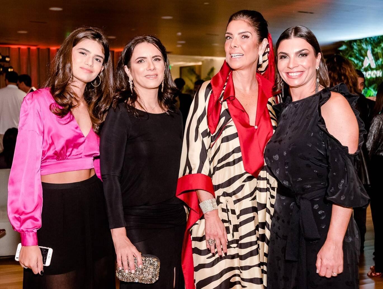 Duda Nagy, Patricia Nagy, Patricia Brandão e Adriana Moreira /Foto: Bruno Ryfer