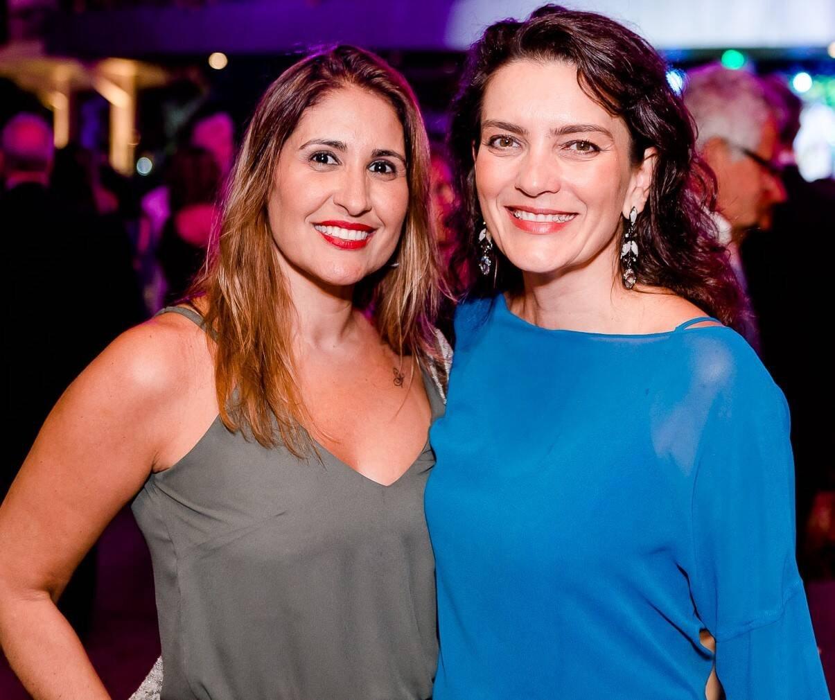 Fabiana Luna e Melissa Januzzi /Foto: Bruno Ryfer