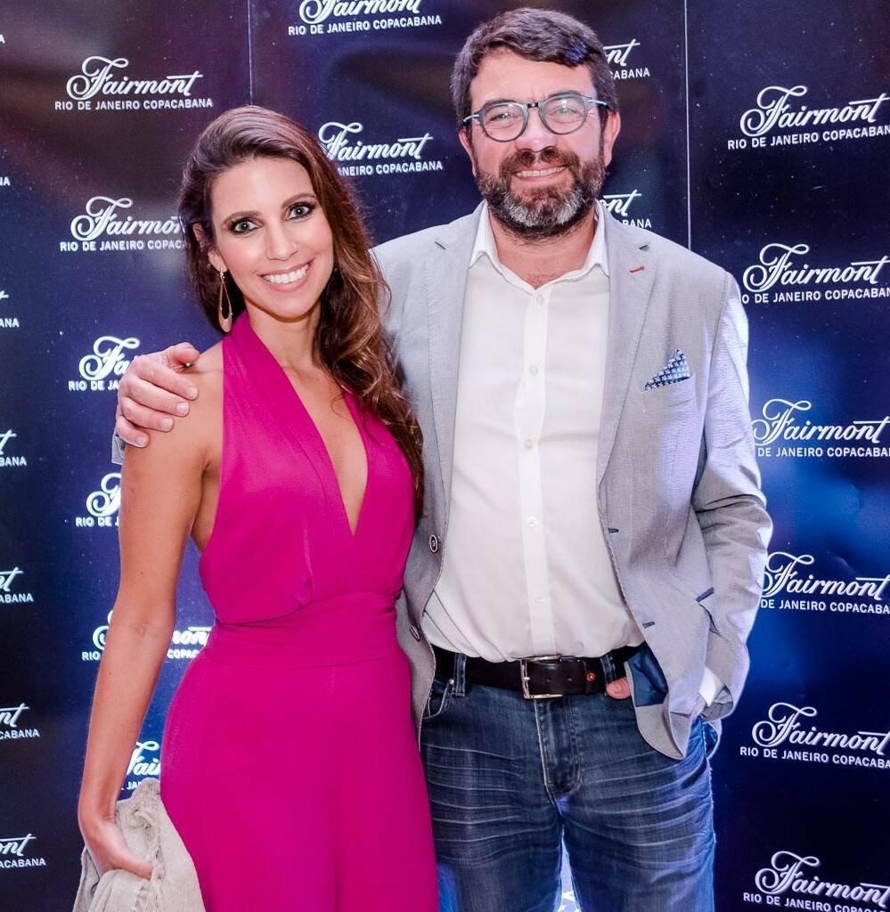 Juliana Rodrigues e Franck Bermond /Foto: Bruno Ryfer