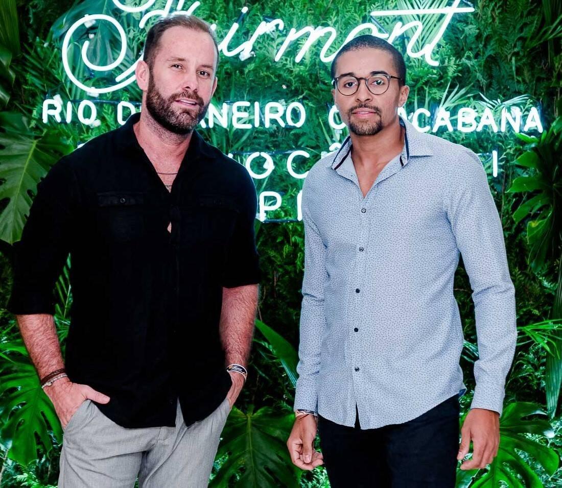 Leo Marçal e Dudu Mello /Foto: Bruno Ryfer