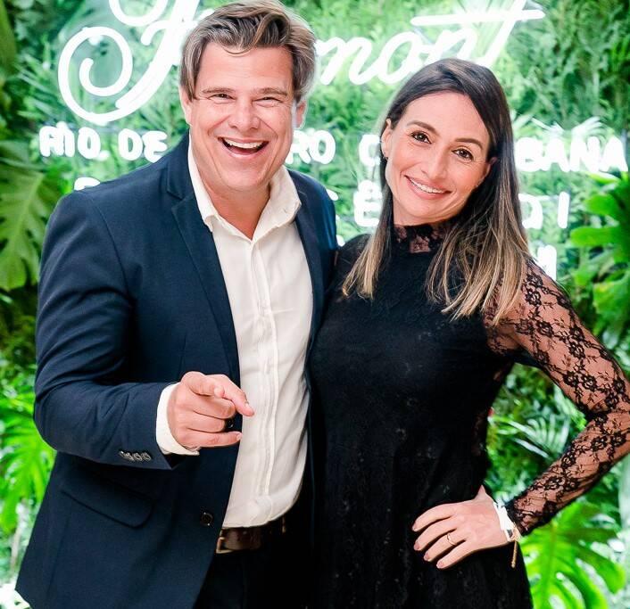 Mauricio Mattos e Roberta Werner /Foto: Bruno Ryfer